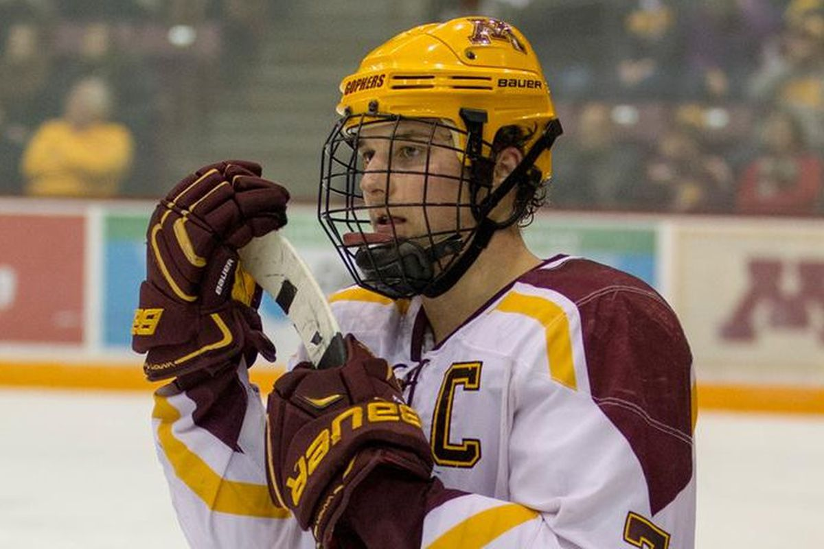 Gopher Hockey: Minnesota Honors Six Seniors and Tries for ...