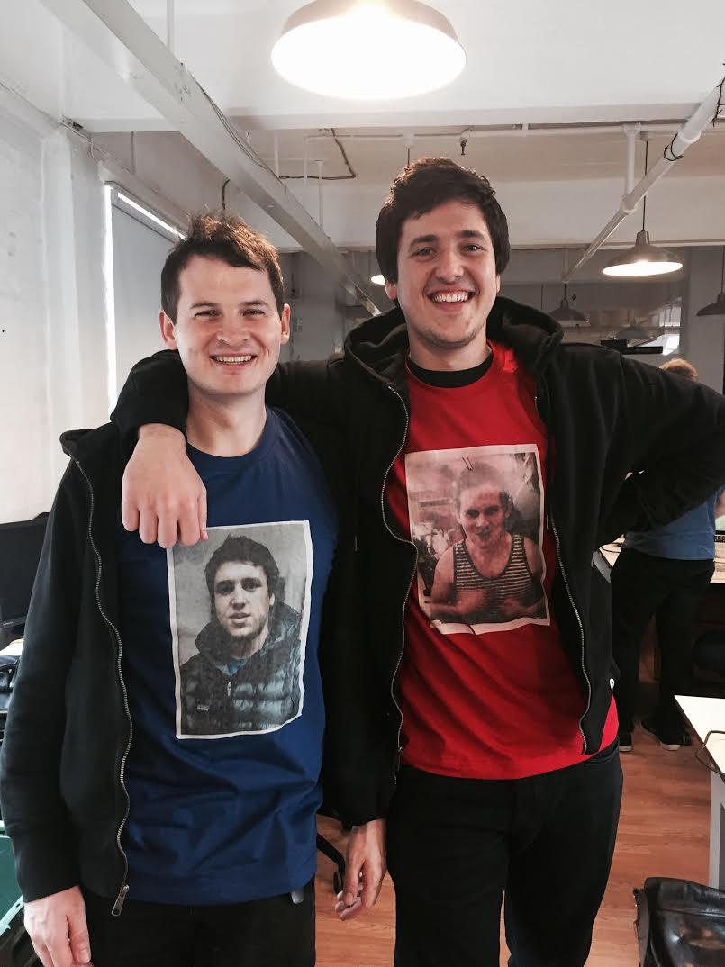 Songkick CEO Ian Hogarth and CrowdSurge CEO Matt Jones
