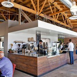 """After cooling down at Liberation, hop across the street to <a href=""""http://thesycamorekitchen.com/""""target=""""_blank"""">The Sycamore Kitchen</A>, aka one of Eater LA's <a href=""""http://la.eater.com/archives/2014/01/16/updating_the_eater_brunch_heat_map_winter_2"""