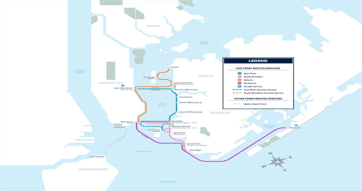 Coney Island Ferry Cost