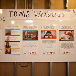 The Wellness Center offers free yoga, pilates and TRX classes.