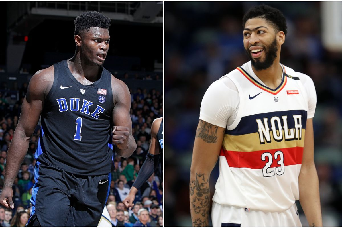 Zion Williamson Or Anthony Davis Why The No 1 Pick Is More