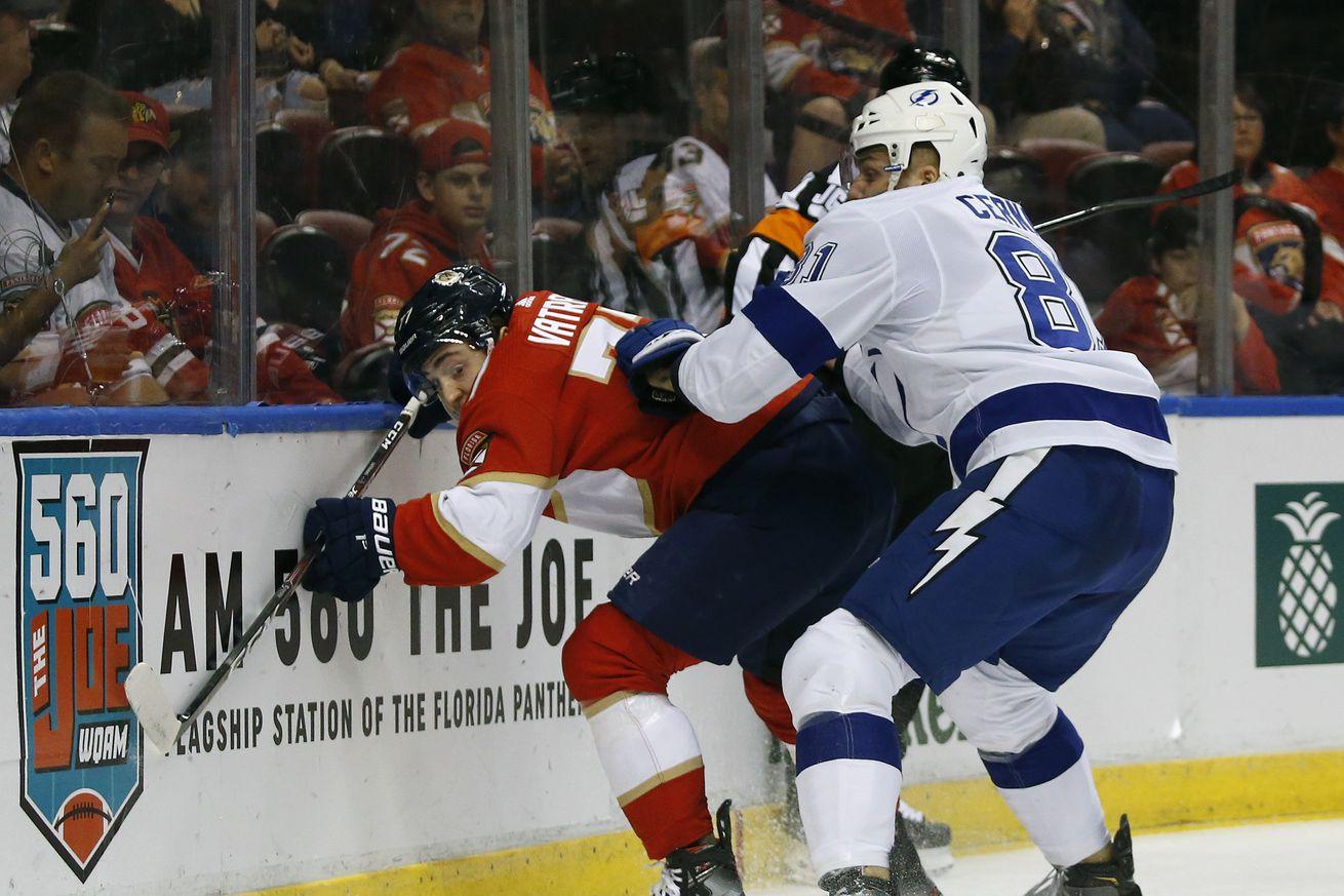 NHL: DEC 10 Lightning at Panthers