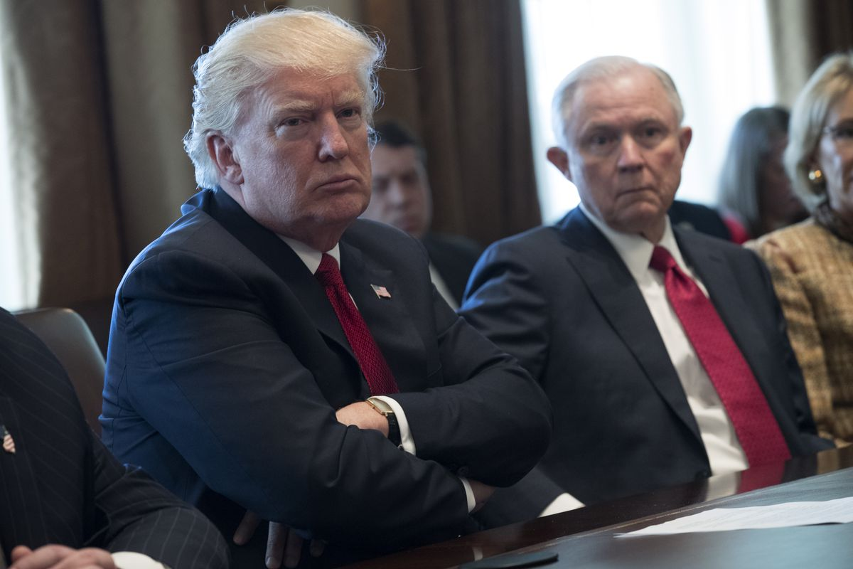 Trump Attends Panel Discussion On Opioid Addiction At White House