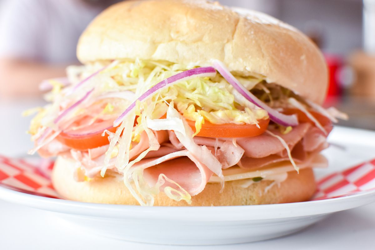 A sandwich from Uncle Nicky's