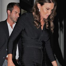 June 29: Caitlyn leaves Tribeca's Tutto Il Giornoon.