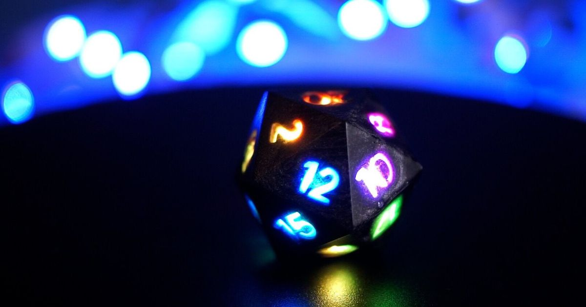 These LED dice could electrify your next DnD campaign
