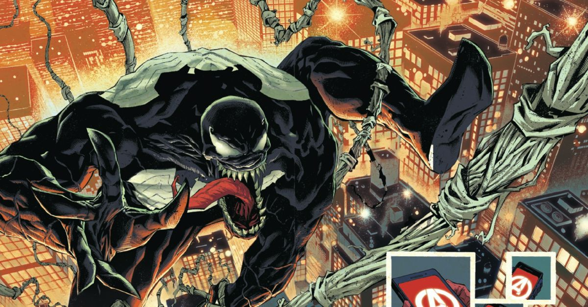 Venom's giant King in Black event packs a lot of destruction into one Marvel issue
