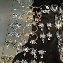 $60 spiky earrings