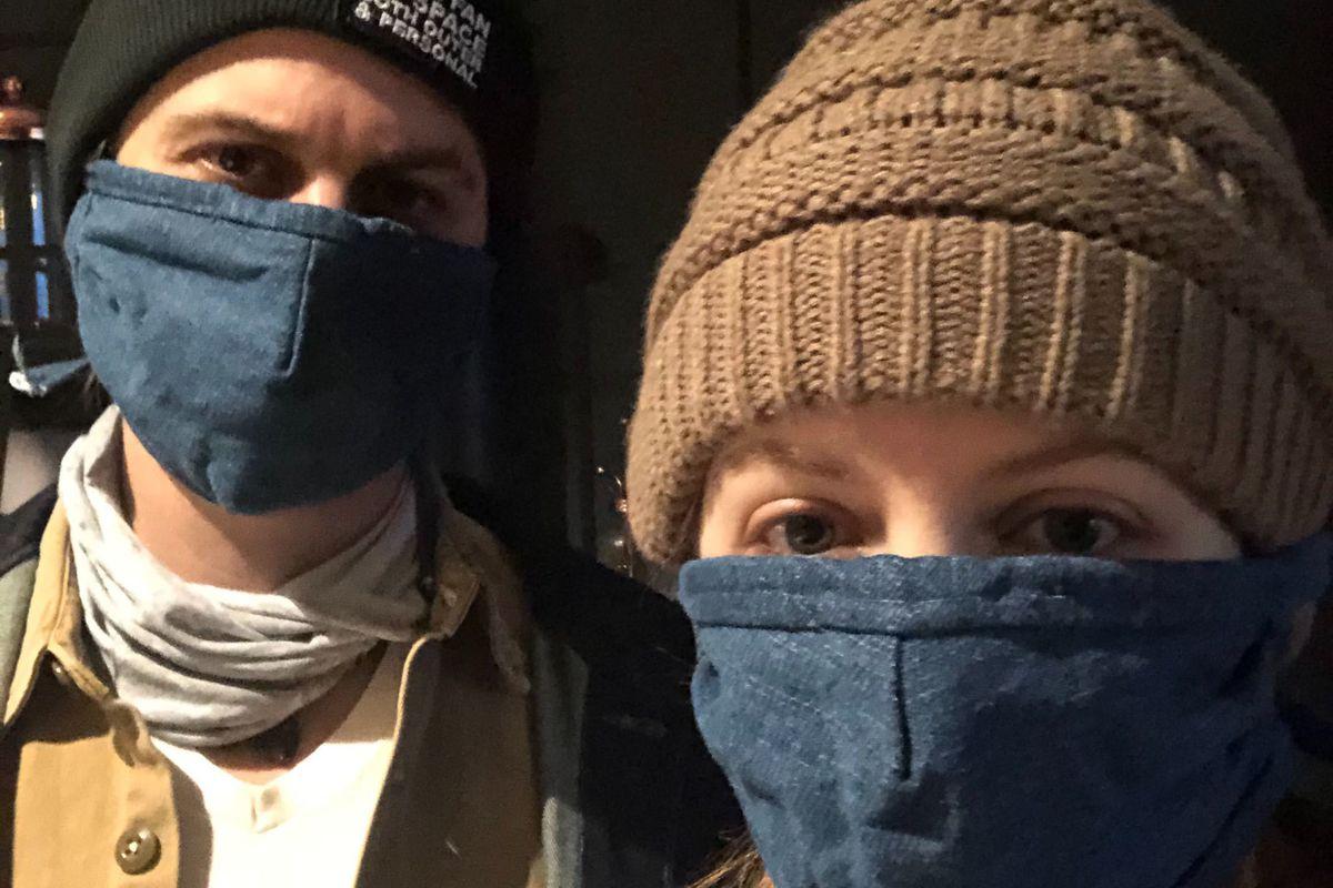 Loren Grush's mask solution