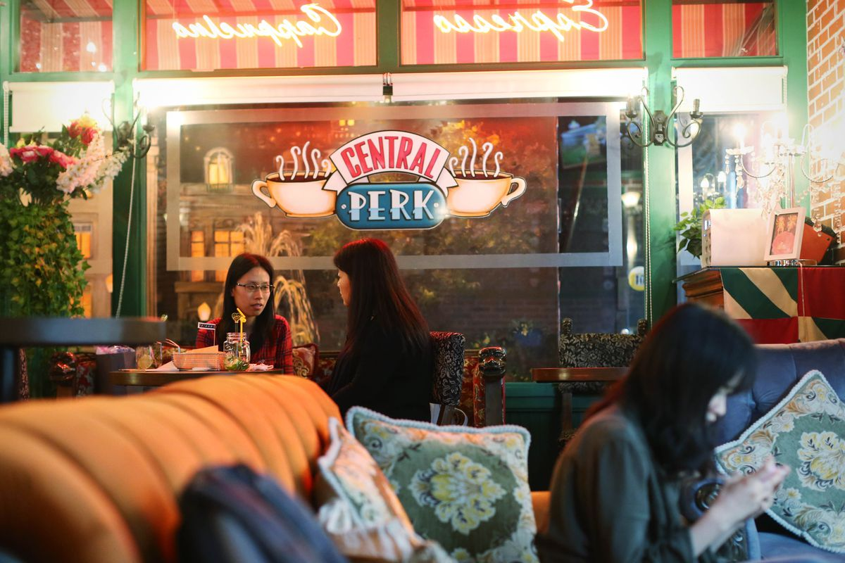 Friends' Pop-Up With Central Perk Heads to Soho in September