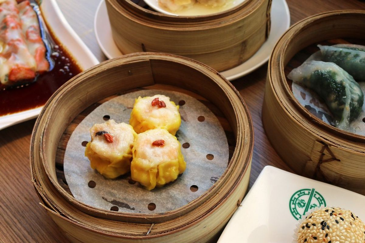 A platter of Dim Sum from Tim Ho Wan in Irvine.