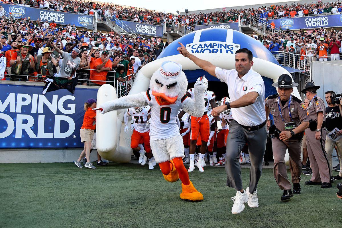 NCAA Football: Florida at Miami