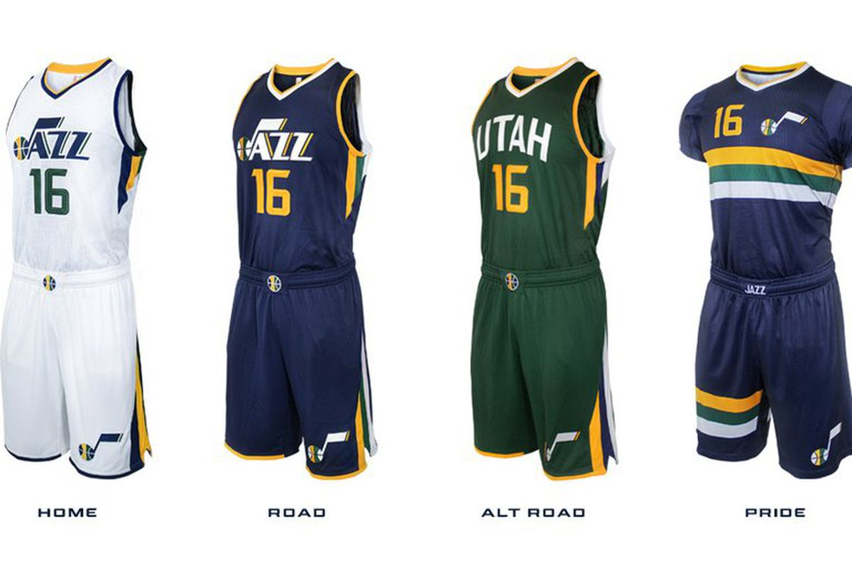 7d490989cf2 Utah Jazz reveal new uniforms - SLC Dunk