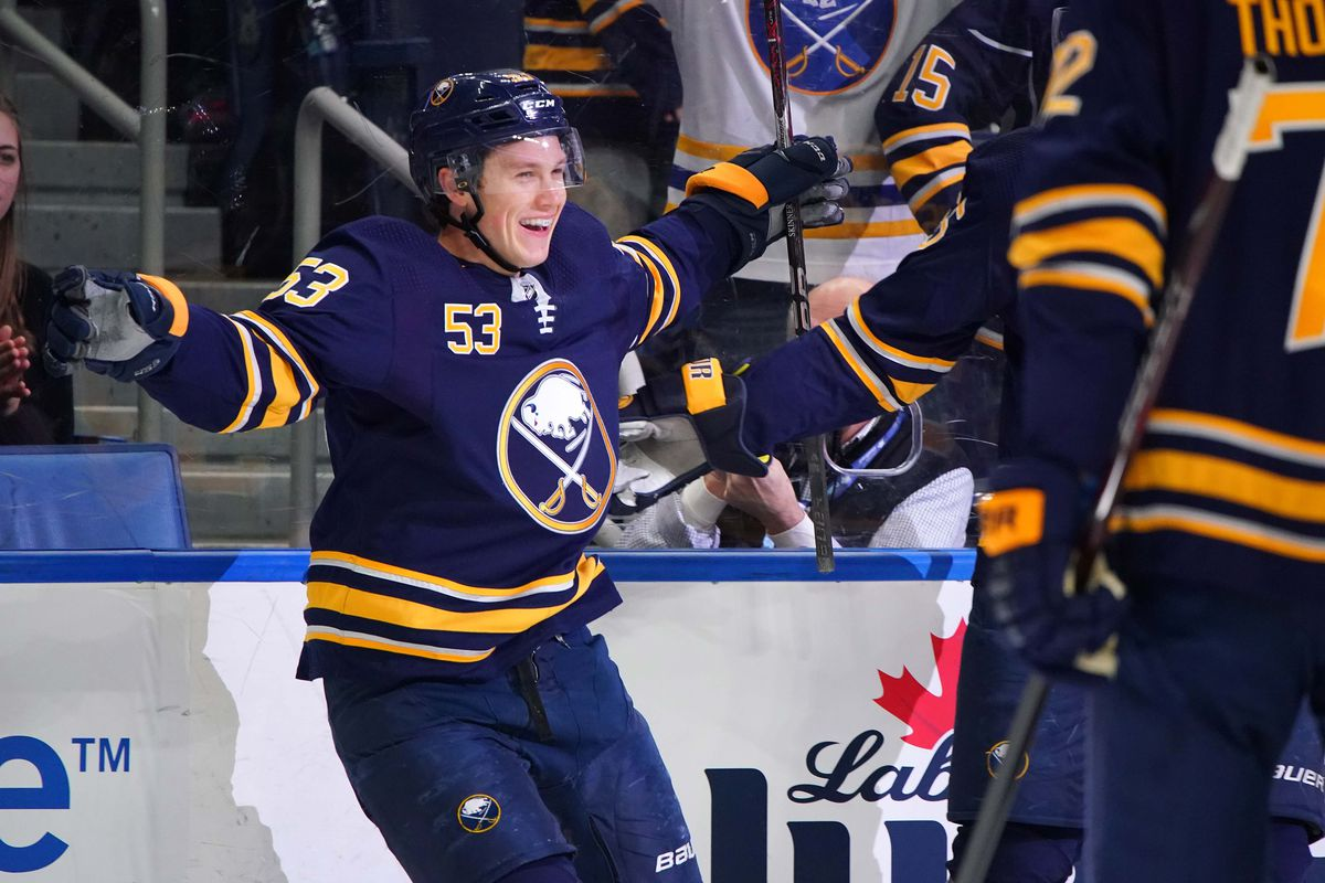 new product c1a2e 1e1f6 Buffalo Sabres forward Jeff Skinner's Dream Season Continues ...