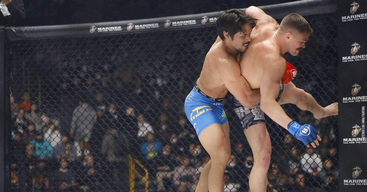 Goiti Yamauchi ignores distractions as he aims to fight for Bellator belt 'in less than a year'