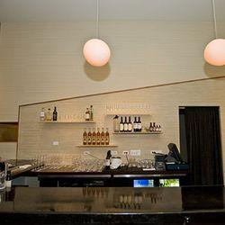 Michael Simon will prepare creative cocktails at the sleek bar