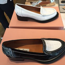 Acne Studios Penny crocodile loafers, $199 (from $620)