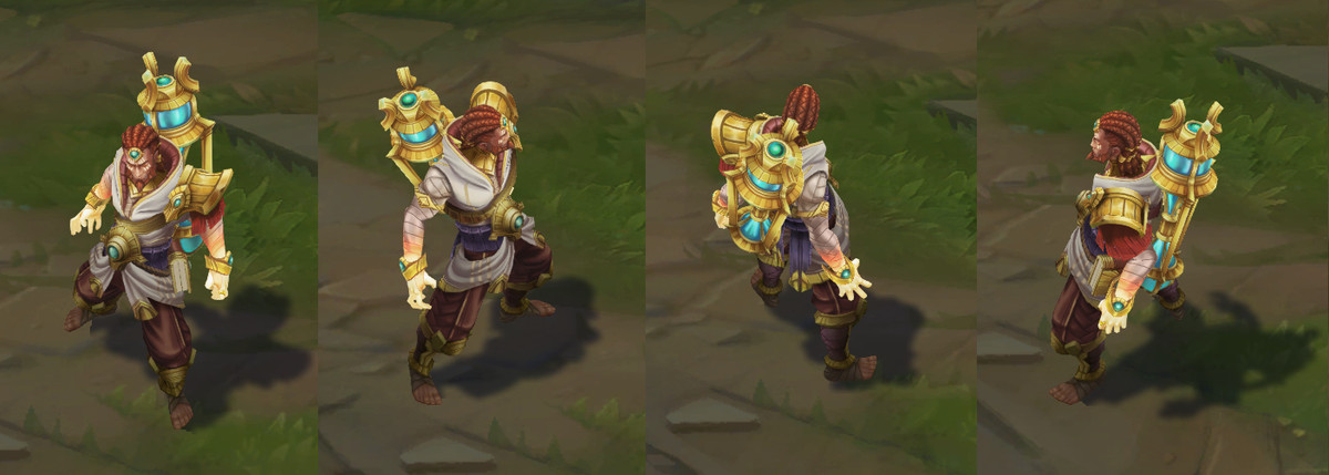 Guardian of the Sand Ryze's in-game model