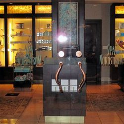 """While <a href=""""http://shop.nordstrom.com/st/nordstrom-san-francisco-centre"""">Nordstrom</a> may not immediately bring to mind great luxury, we can't think of many things more luxurious than capping off a day of shopping with an organic aromatherapy massage"""