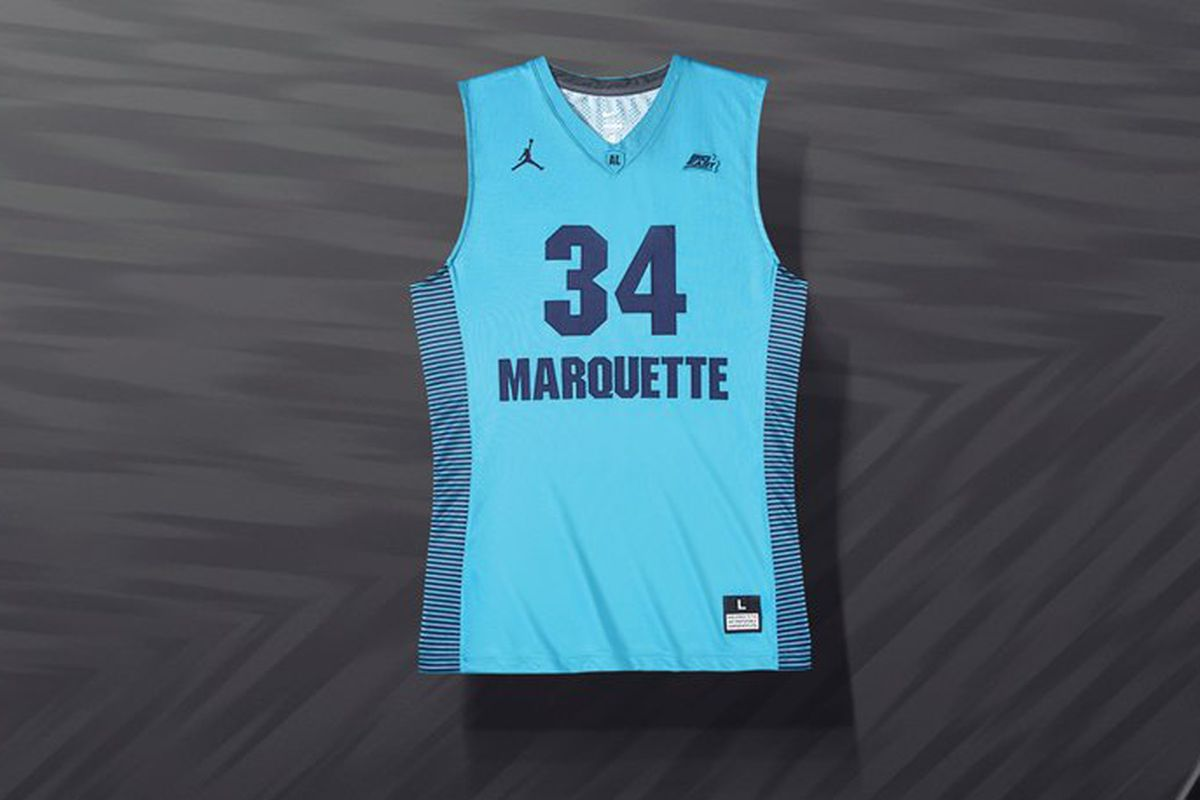 32dd33317 Marquette Basketball Revealed The Nike N7 Uniforms - Anonymous Eagle