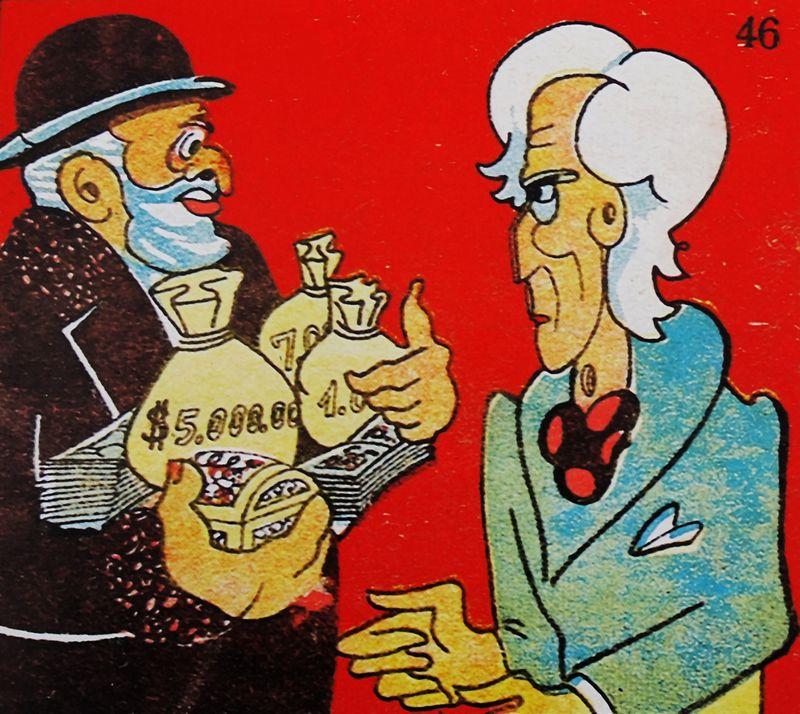 Anti-Semitic cartoon published in Spain.