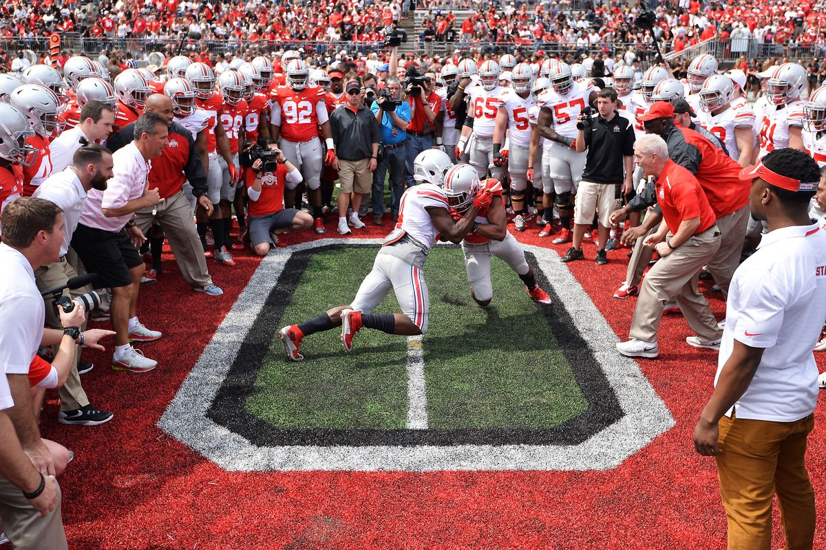 April 15 college football spring game live updates: Ohio ...