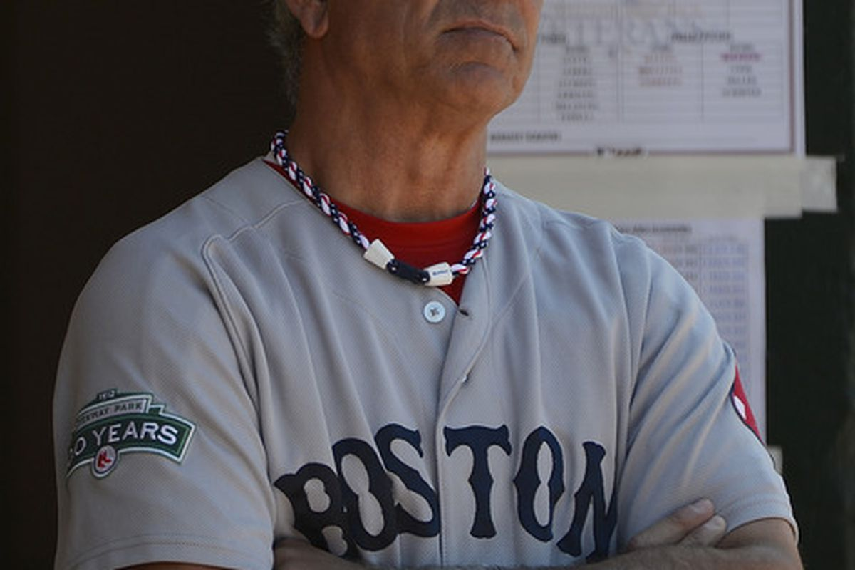 Like Bobby Valentine, Jake Stahl took over the 1912 Red Sox after time away from the game. Bobby V isn't going match Stahl as a first baseman, but can he match him as a manager? (Photo by Thearon W. Henderson/Getty Images)