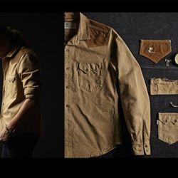 Tin Cloth Sawtooth Western Shirt