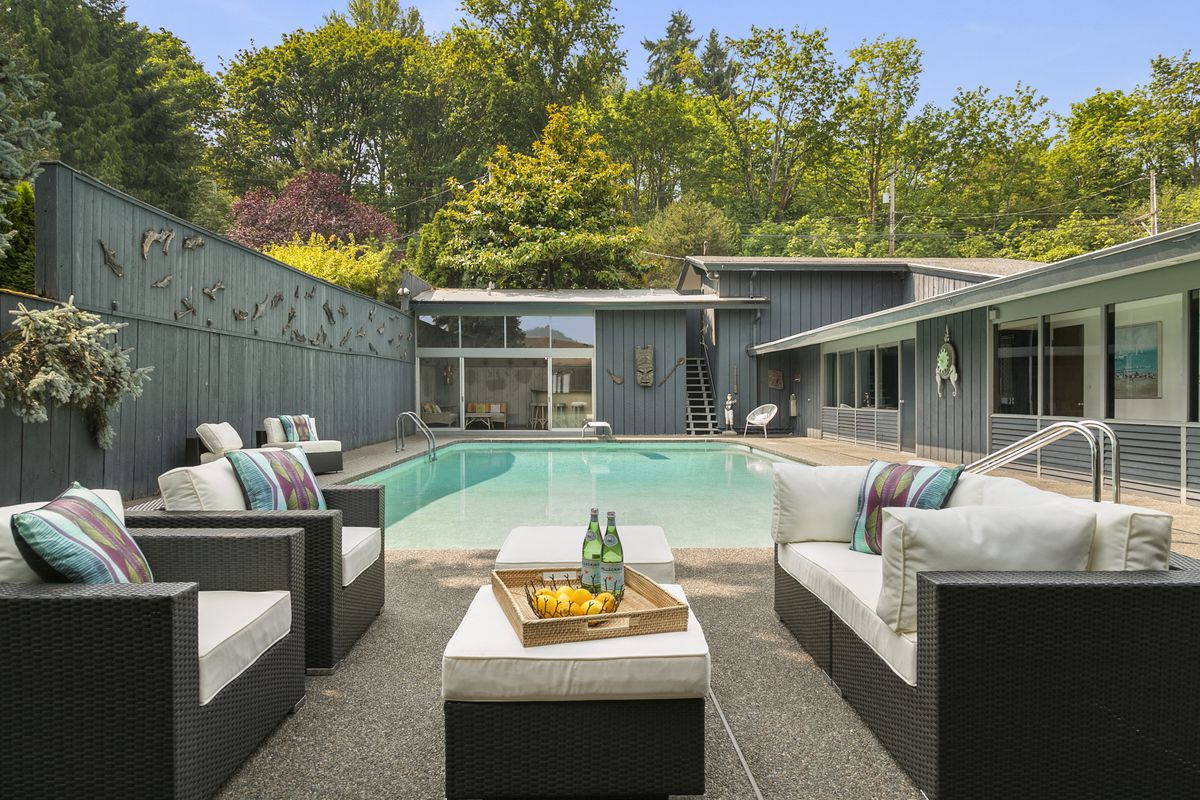 a swanky midcentury pad in sand point curbed seattle