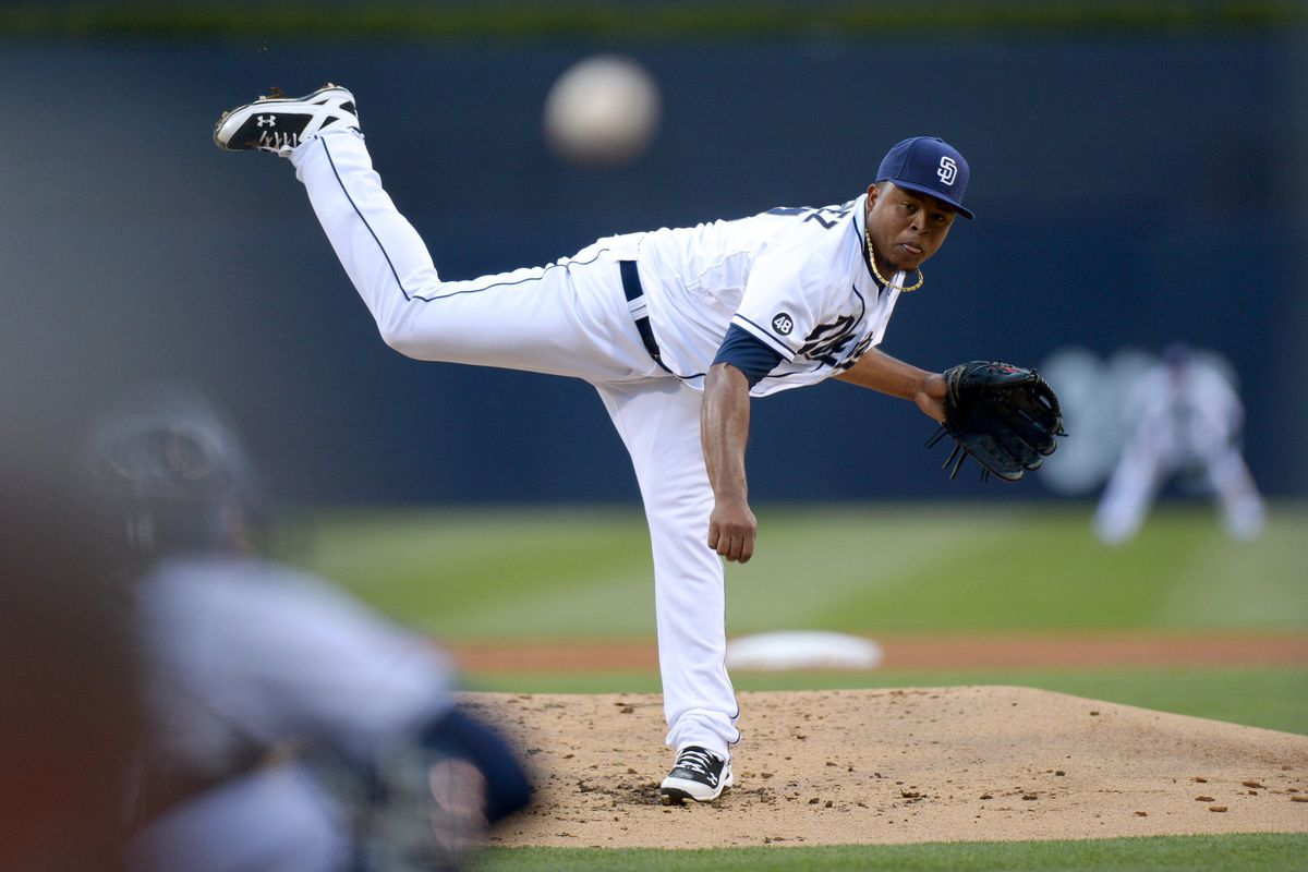 Checking out how 2012 Opening Day starter Edinson Volquez and the rest of the Padres pitchers project for 2013