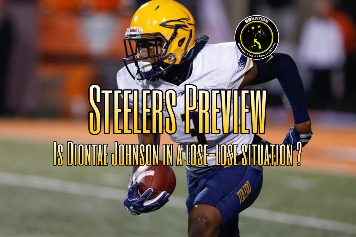4b9cd12fe Is Diontae Johnson entering a lose-lose situation with the Steelers ...