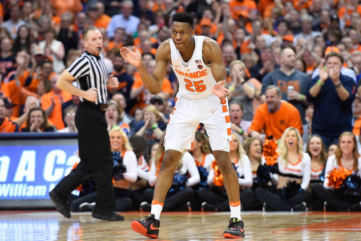 Breaking Down Syracuse Basketball S Scholarships Who Else Could Su