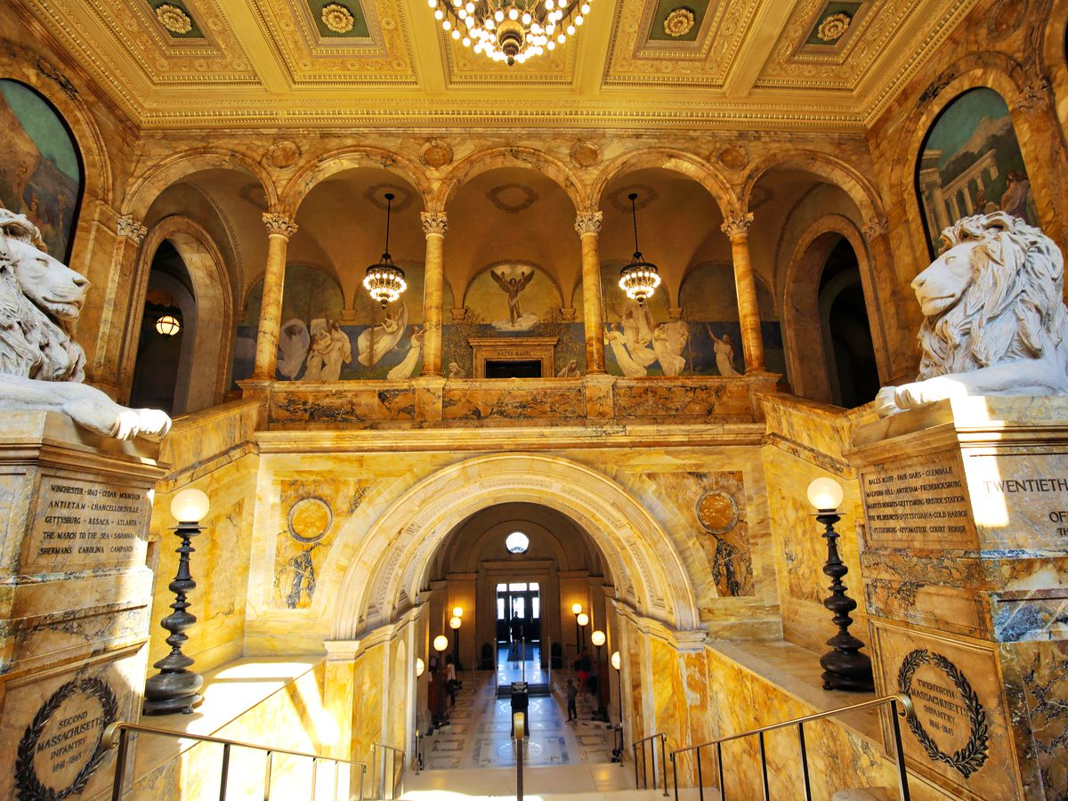 Boston Public Library Wedding.Boston Wedding Venues 12 Unique Spots To Get Hitched
