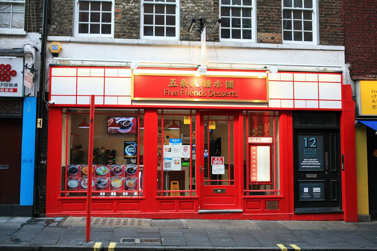 Five Friends Desserts, Chinatown, an area of London which has been hammered by the coronavirus lockdown