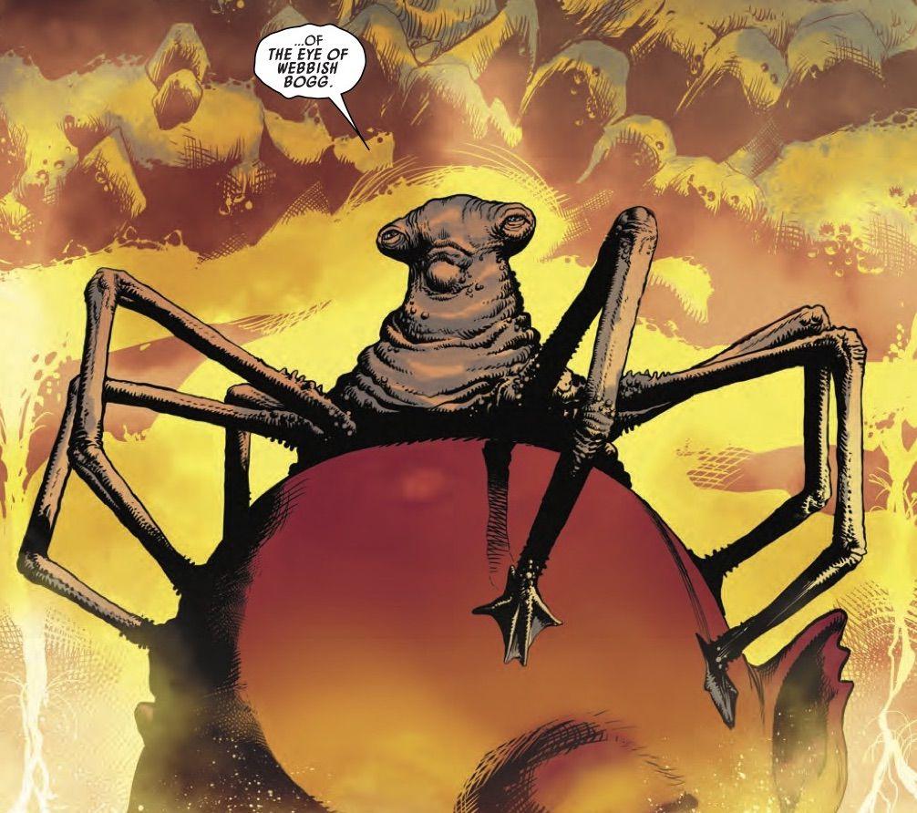 The Eye of Webbish Bog in Star Wars: Darth Vader #8