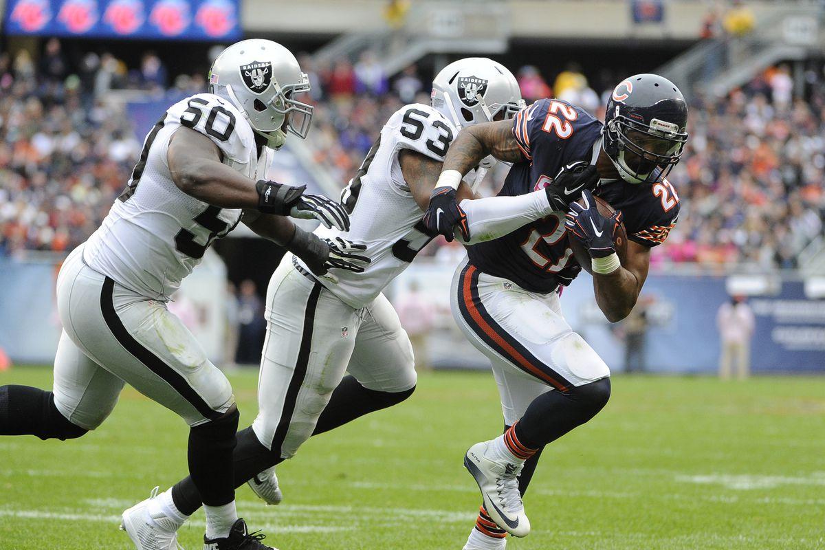 Oakland Raiders v Chicago Bears