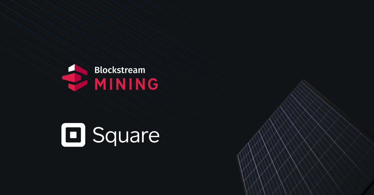 Square will invest  million to build solar-powered bitcoin mining facility