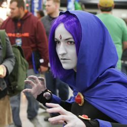 Alissa Mead attends Comic Con at the Salt Palace in Salt Lake City Thursday, April 17, 2014.