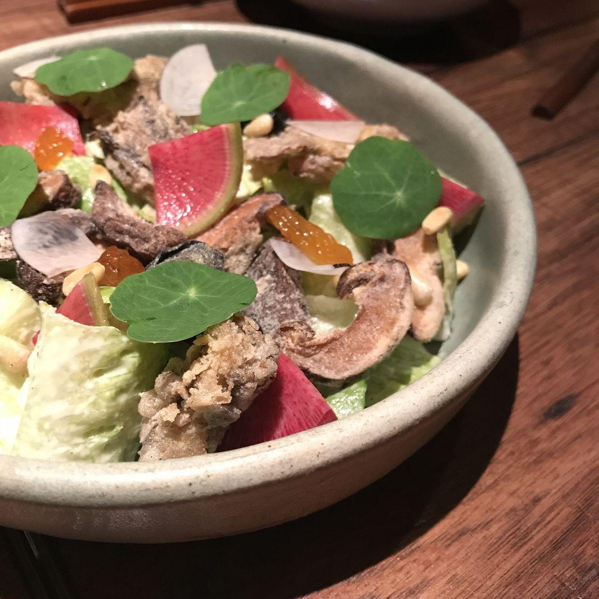 Oiji's mushroom salad
