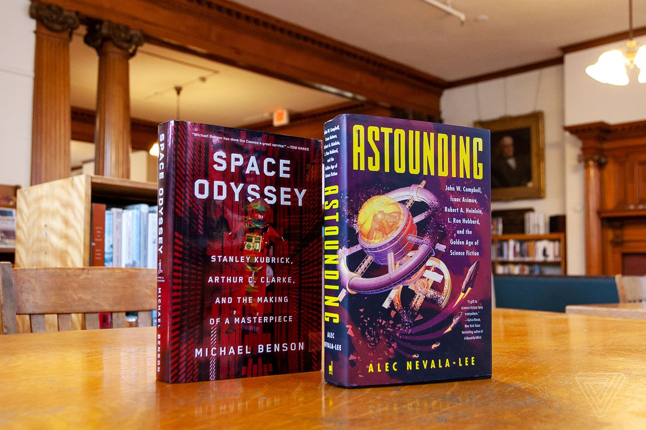 these two books look at a pair of sci fi s most influential projects and their flawed creators