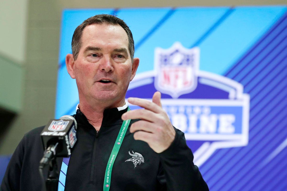 97d92a270 The Vikings  Quarterback Situation Remains One of the Offseason s Biggest  Questions. Minnesota head coach Mike Zimmer ...