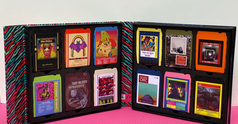 Inside the Oh Sees' year-long effort to put their albums on 8-track box sets