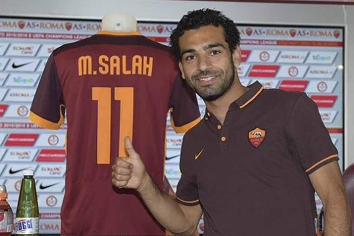 new arrival 56738 23d9d Official: Roma Signs Mohamed Salah From Chelsea - Chiesa Di ...
