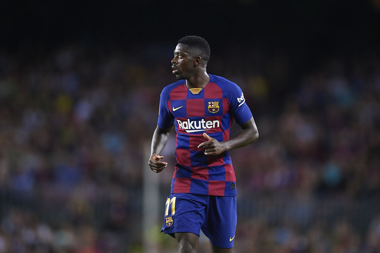 Dembele to miss Clasico after being hit with two-match ban