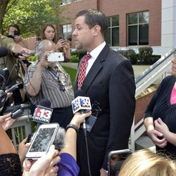 Roger Gannam of Liberty Counsel represented Rowan County Clerk Kim Davis in 2015. Davis, who had said she couldn't issue marriage licenses to same-sex couples because of her religious beliefs, had been sued by the American Civil Liberties Union.