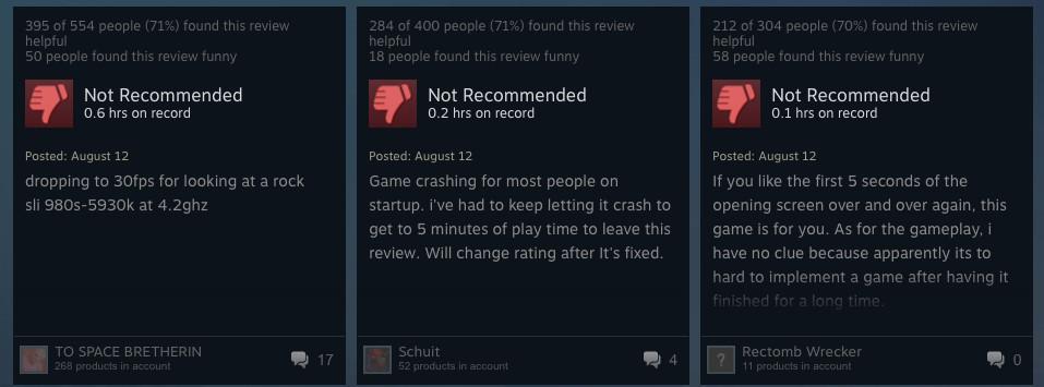 steam reviews no man's sky