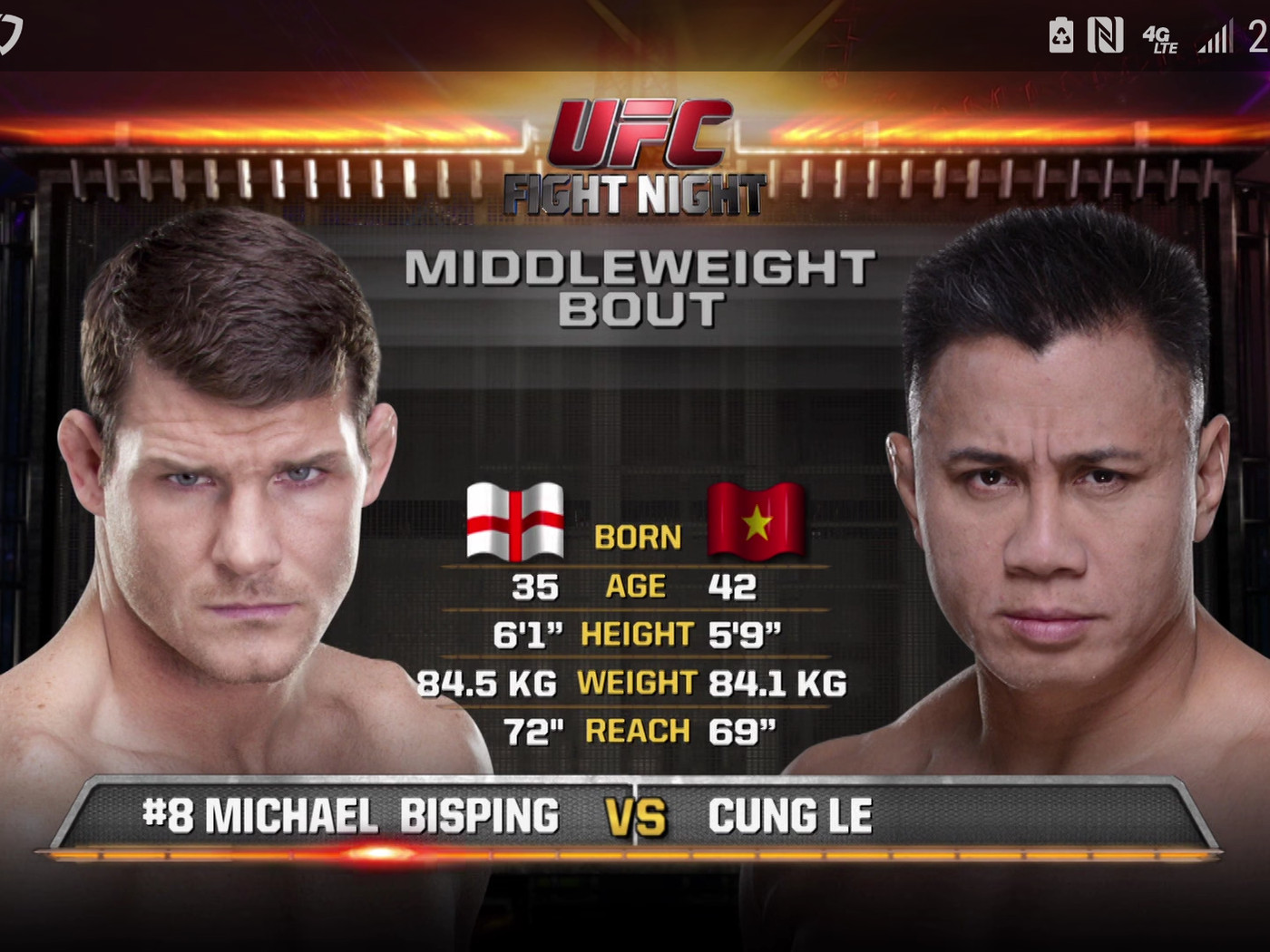 Ufc Shanghai Free Fight Video Watch Michael Bisping Smash Cung Le