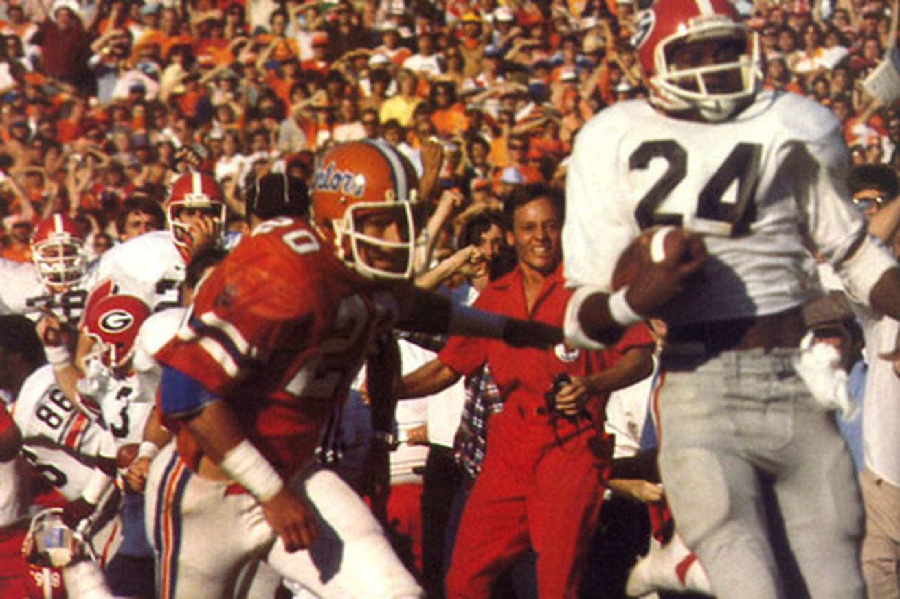Looking Ahead While Looking Back Georgia Vs Florida 1980 Dawg