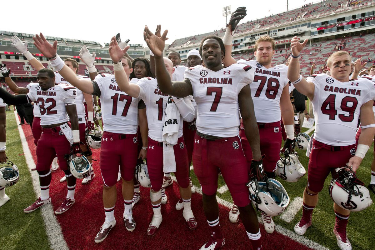 Jadeveon Clowney and the Gamecocks look to toast another victory this weekend in Knoxville.
